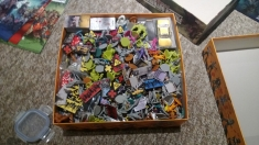 Zombicide single-box storage solution, probably not the wisest of ideas!